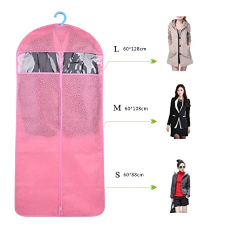 Bolsas de ropa Juego de 6 bolsas de tela no tejidas Bolsas ...