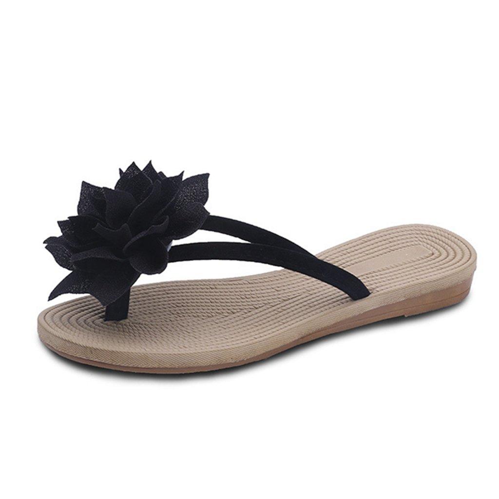 GIY Womens Ladies Flip Flops Slippers Anti-Slip Slip On Dressy Thongs Summer Beach Casual Flat Sandals