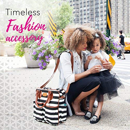 New Arrival for Holiday Season 2018 Chic Mommy Baby Backpack Diaper Bag for Girls - XL Convertible Designer Tote - Messenger - Stroller Organizer New Born Bags (2018-model)