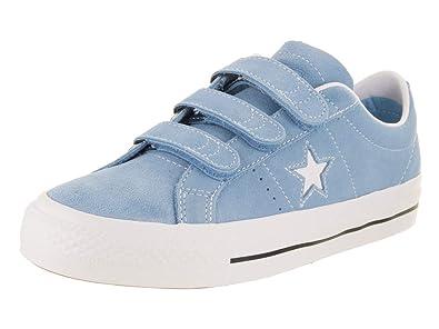 d2ca71ee5bdc Converse Unisex One Star Pro 3V Ox Light Blue Navy Wh Skate Shoe 8.5