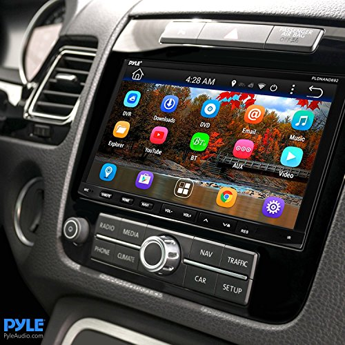 Premium 7In Double-DIN Android Car Stereo Receiver With Bluetooth - HD DVR Dash Cam and Rearview Backup Camera - Touchscreen Display With Wi-Fi Web Browsing And App Download by Pyle (Image #7)