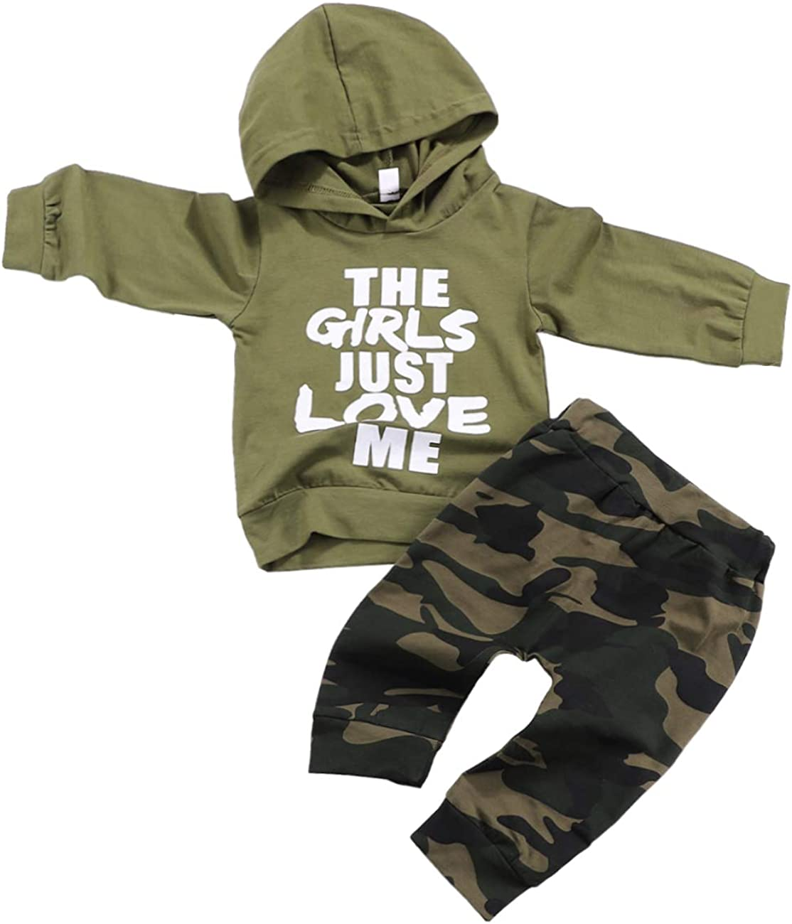 Toddler Infant Baby Boys Clothes Long Sleeve Tops Baby Bear Sweatsuit Pants Fall Winter Outfits Set for Baby Boy