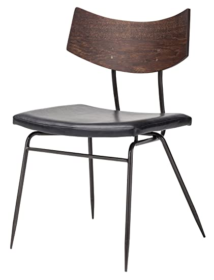 Awe Inspiring Amazon Com Soli Dining Chair In Seared Oak And Black Customarchery Wood Chair Design Ideas Customarcherynet