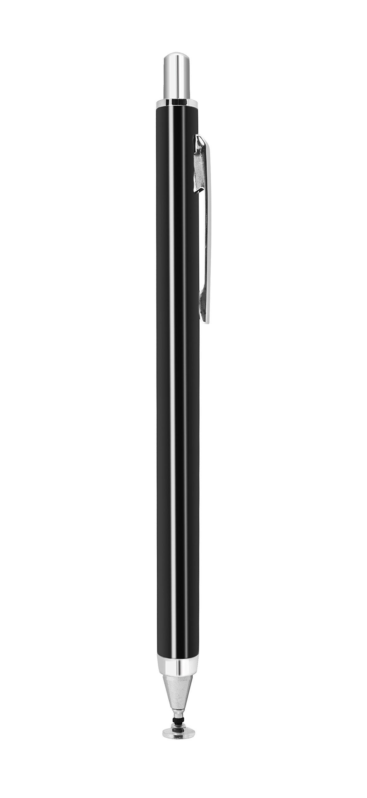 Ampen Stylus Retractable Fine Point Disk Stylus (Black) For Ipad Ipad Air Ipa.. 12