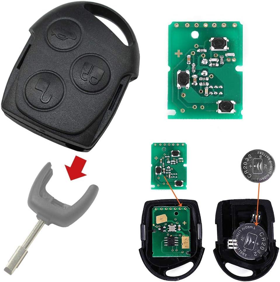 Ford Funkschlüssel Fernbedienung 433 Mhz Platine Auto Elektronik