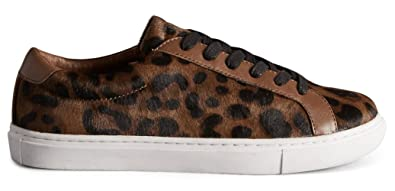ab622882746e Marks & Spencer Autograph T024095 Leather Leopard Print Hairy Trainer RRP  £49.50 ...