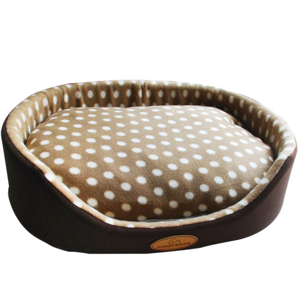 Coffee XL(70x60cm) Coffee XL(70x60cm) Fund Modern Removable Ultra Soft Warm Pet Bed Puppy Dog Cat Sleeping Cushion (XL(70x60cm), Coffee)
