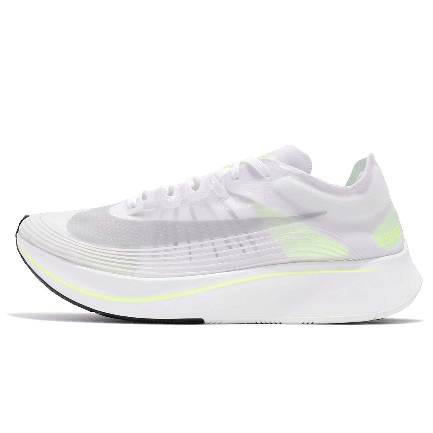 WHITE   VOLT GLOW-SUMMIT WHITE Nike Mens Zoom Fly SP Lightweight Trainer Running shoes