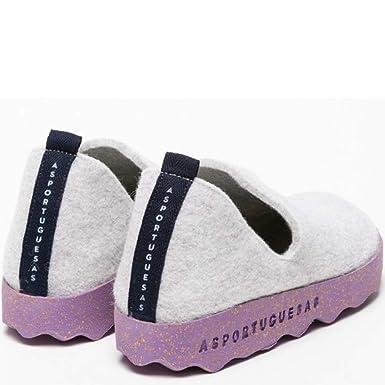 5c7532af820de Asporteguesas, Wool, Cork eco Friendly Shoe, Light Grey, 39 at ...