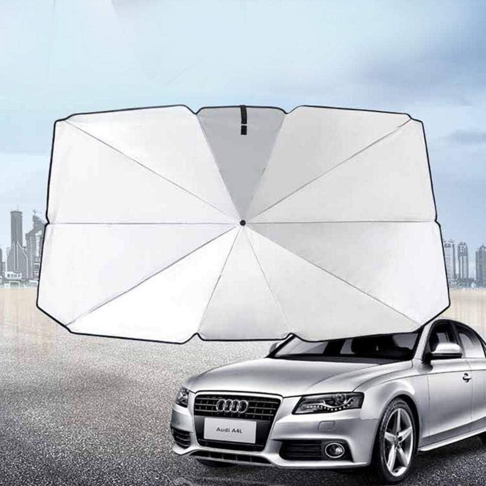 Du-shop Auto Windschutzscheibe Sonnenblende mit UV-Schutz f/ür einfache Bedienung Howling Wolf-9U