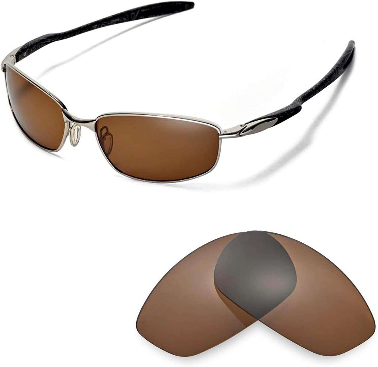 Walleva Replacement Lenses for Oakley Blender Sunglasses - 9 Options Available