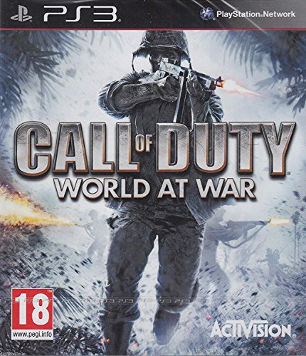 Call of Duty World At War PS3 (The Best Zombie Games For Ps3)