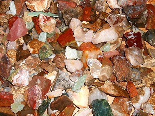 Rock Tumbler Gem Refill Kit Old California Miners Mix Rough 8 oz