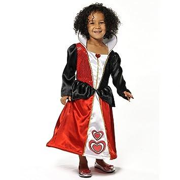 Queen - Disfraz de reina alicia para niña, talla 7: Pretend to Bee ...