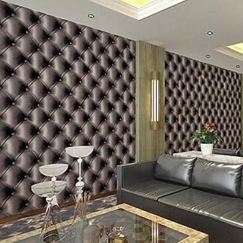 Super Weich PVC Muster Tapete 3D Nachahmung Umhüllung bars Hotel KTV  DF15
