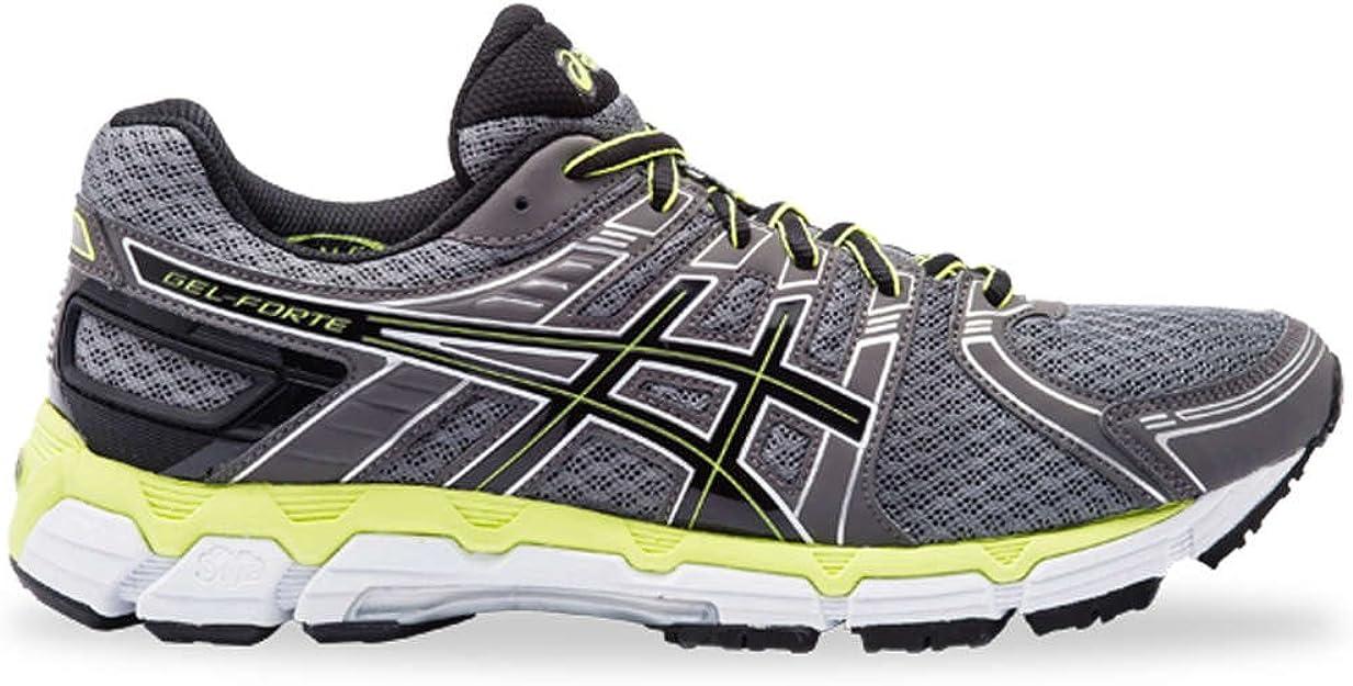 ASICS Gel-Forte Running Shoes (2E Width) - 14 Grey: Amazon.co.uk: Shoes &  Bags