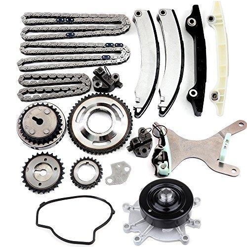 SCITOO Timing Chain Water Pump Kit NGC fits for 04 05 06 07 08 09 10 11 Jeep Liberty Dodge Durango Dakota 3.7L
