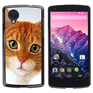 Vortex Accessory Carcasa Protectora Para Lg Google Nexus 5 D820 D821 - Cymric Cat American Shorthair -