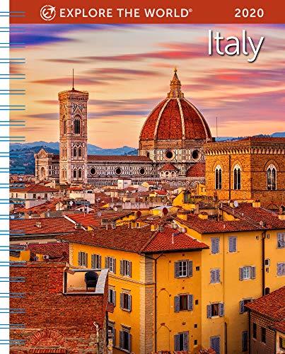 Italy Weekly Engagement Calendar 2020 Planner Personal Journal Organizer Scheduler 6.5
