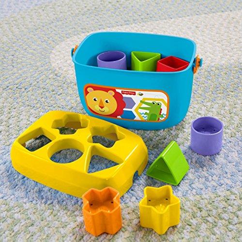61kwGxS55AL - Fisher-Price Baby's First Blocks Playset