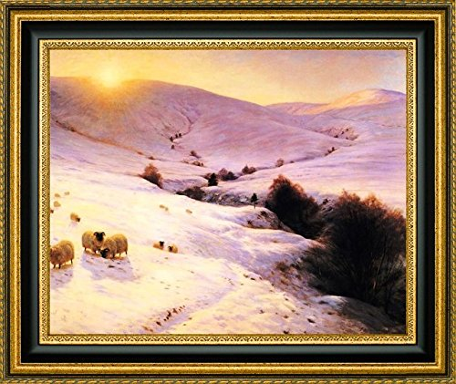 And the Sun Peeped O'er Yon Southland Hills by Joseph Farquharson - 15