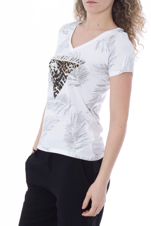 GUESS JEANS Tee shirt - W72I51K5EX0 - FEMME: Amazon.fr: Vêtements et  accessoires