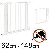 TOM - Barrière de Sécurité - 75 – 148 cm   Sans perçage   escalier et porte