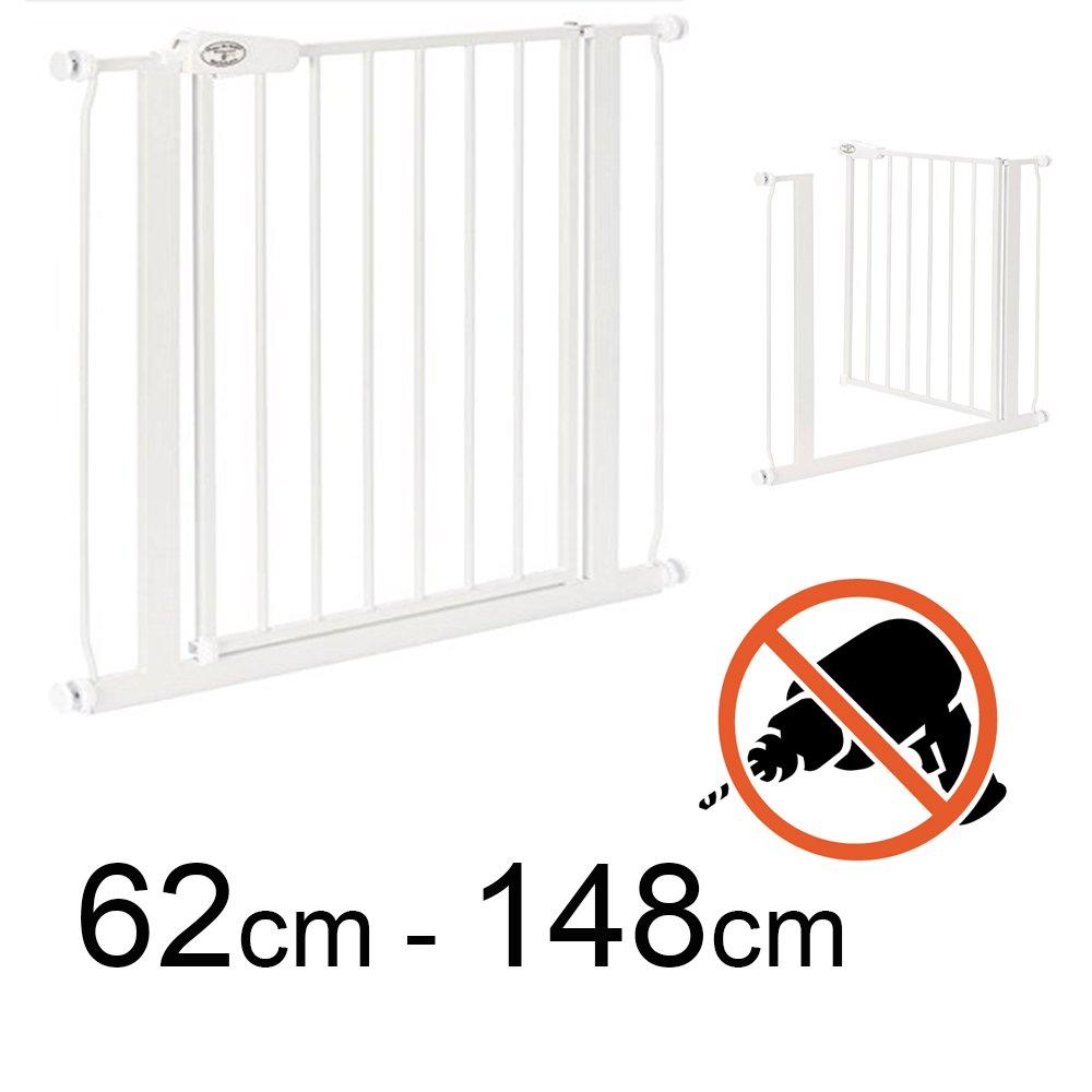 TOM - Barrière de Sécurité - 62-71 cm | Sans perçage | escalier et porte Impag GmbH