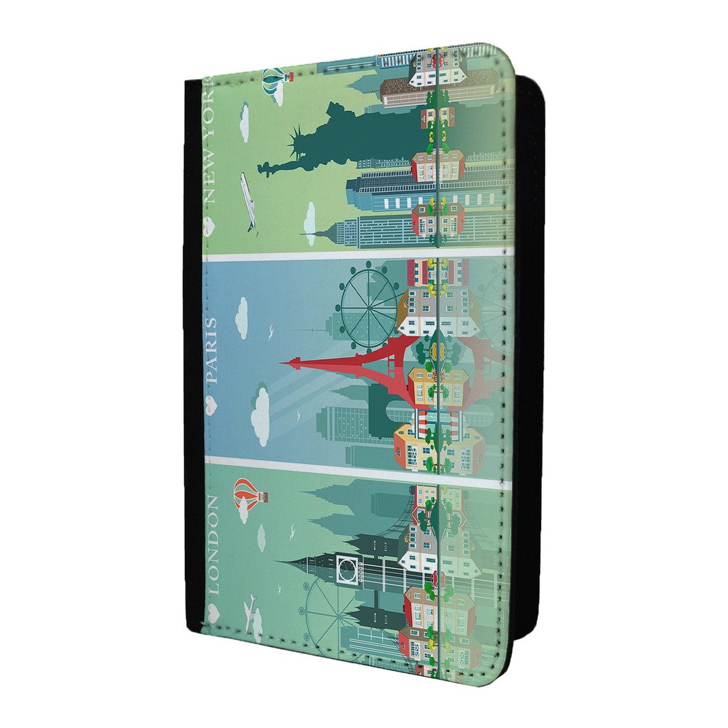 London Paris New York passeport Coque – S284 Accessories4Life