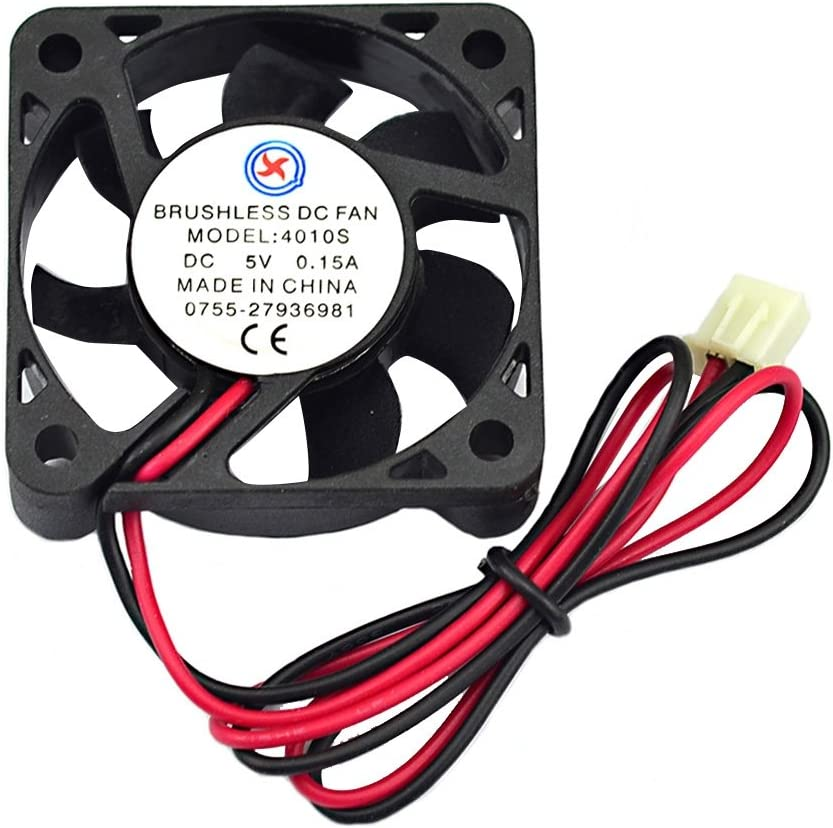 Color : Color1 External Cooling Fans Jtron DC 5V 0.15A 3.9cm Cooling Fan Fan-Cooled Radiator Motors for Computers Computers Accessories