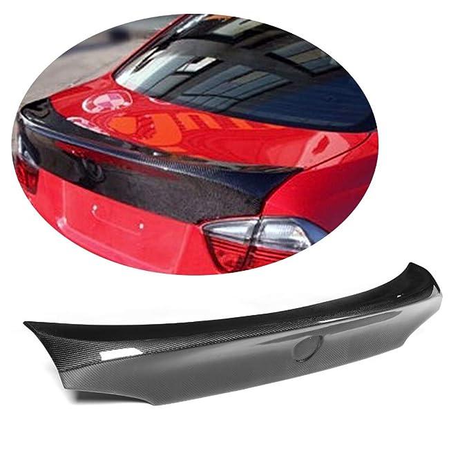 Amazon.com: MCARCAR KIT Trunk Spoiler fits BMW 3 Series E90 325I 328I 330I 335I M Sport M3 Sedan 2005-2012 CLS Look Carbon Fiber CF Rear Boot Lid Highkick ...