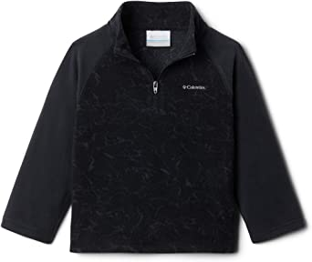 Classic Fit Soft Fleece Columbia Youth Glacial III Fleece Printed Half Zip