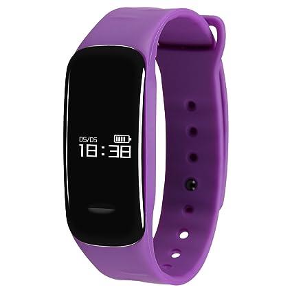 Monitor de actividad física Kivors, smartwatch con monitor de ...