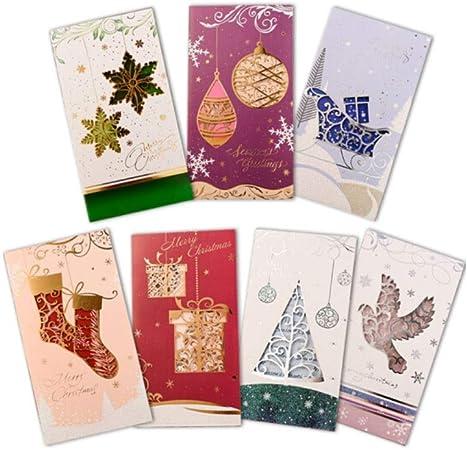 Carte De Voeux De Noël Carte Cadeau Commémoratif Du