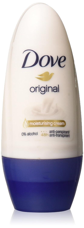 Dove Original Anti-perspirant Deodorant Roll-on 50ml (1.7 Fluid Ounce). (Pack of 2)