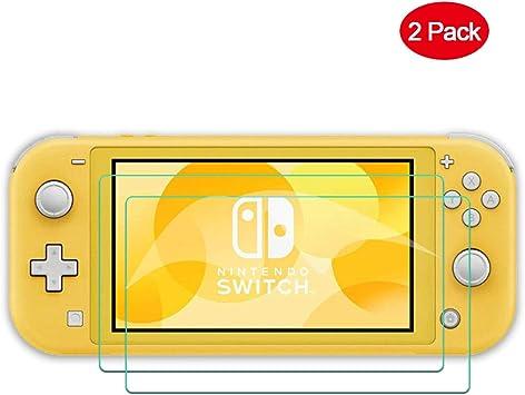 TUTUO Protector Pantalla para Nintendo Switch Lite de Cristal, Cristal Templado Pantalla [9H Dureza, Sin Burbujas, HD, a Prueba de Rotura] para Nintendo Switch Lite (2 Piezas): Amazon.es: Electrónica