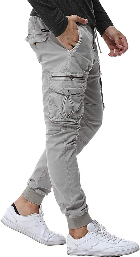 Friendshiy Pants Pantalones De Camuflaje Tacticos Para Hombre Estilo Militar Informal De Algodon Con Cinta Para Hombre 38 Gris Claro 30 Amazon Com Mx Ropa Zapatos Y Accesorios