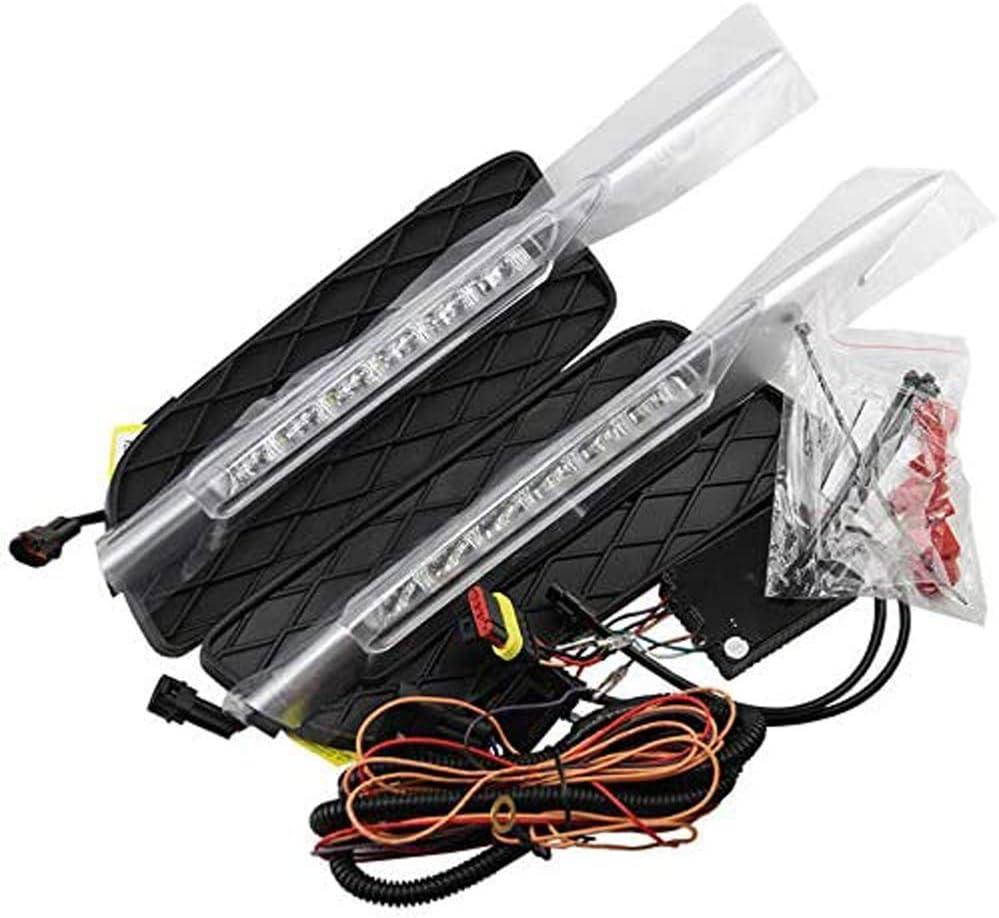LED DRL Daytime Running Light Frong pare-chocs antibrouillard pour X5 E70 2007-2009