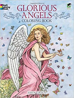 glorious angels coloring book dover coloring books - Dover Coloring Books
