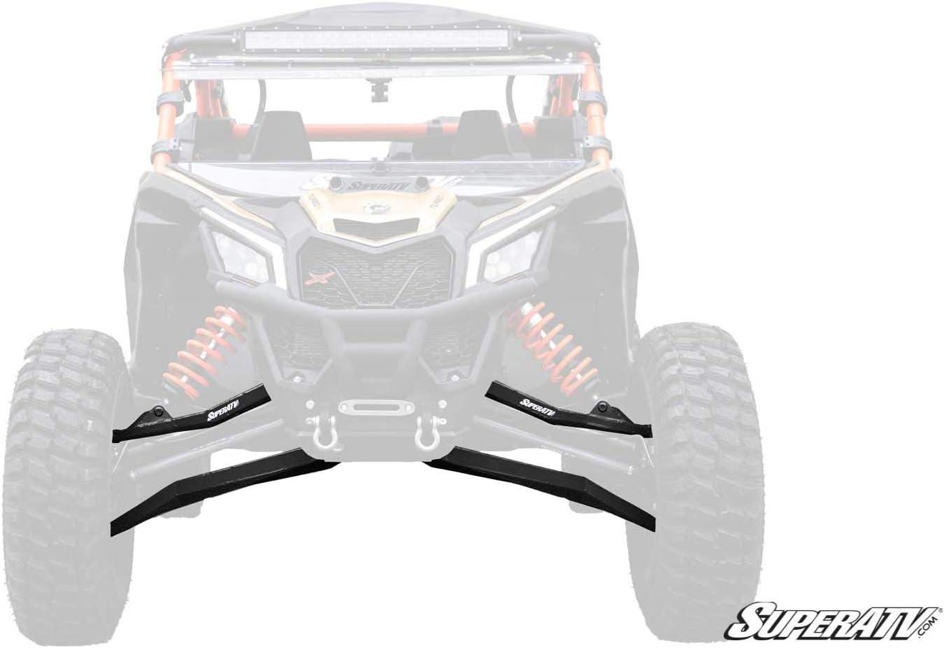 SuperATV Heavy Duty Rhino 2.0 Can-Am Maverick X3 X RS Turbo R Axle Front Left 2017+