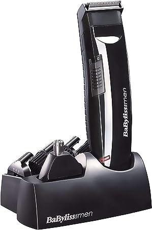 BaByliss Multi 6 en 1 E823E - Kit multifunción para cabello y barba con recortador para nariz y orejas: Amazon.es ...