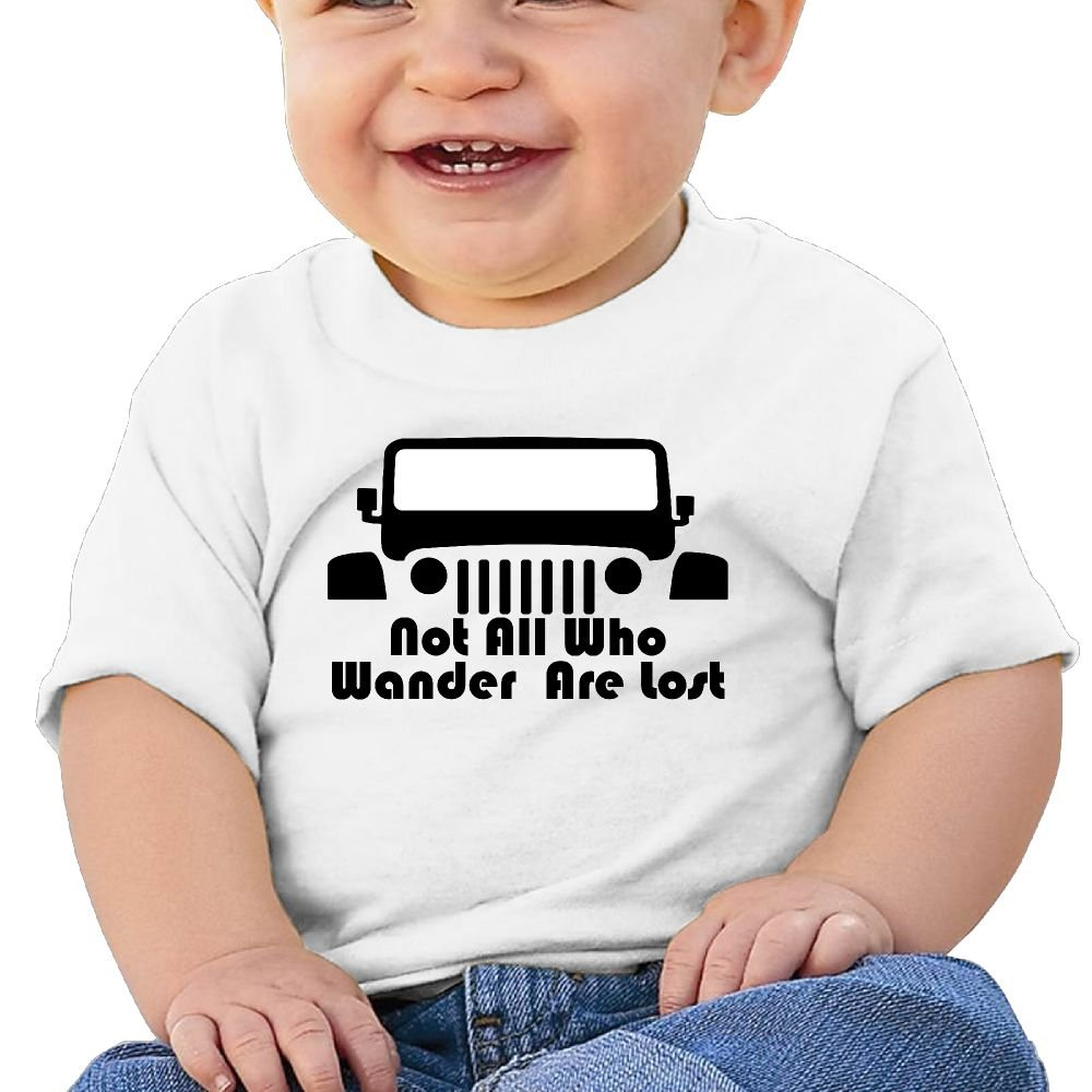 Short Sleeves T Shirts The Jeep Wave Birthday Day 6-24 Months Baby Boy Toddlers