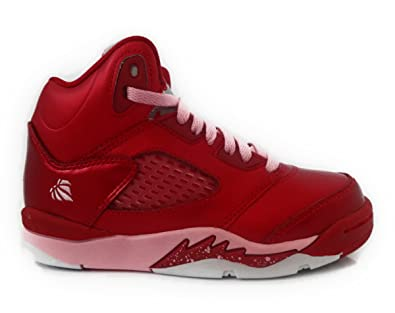 Schön Air Jordan 5 Retro (PS) Valentineu0027s Preschool Girlsu0027 Basketball Shoes Gym  Red/