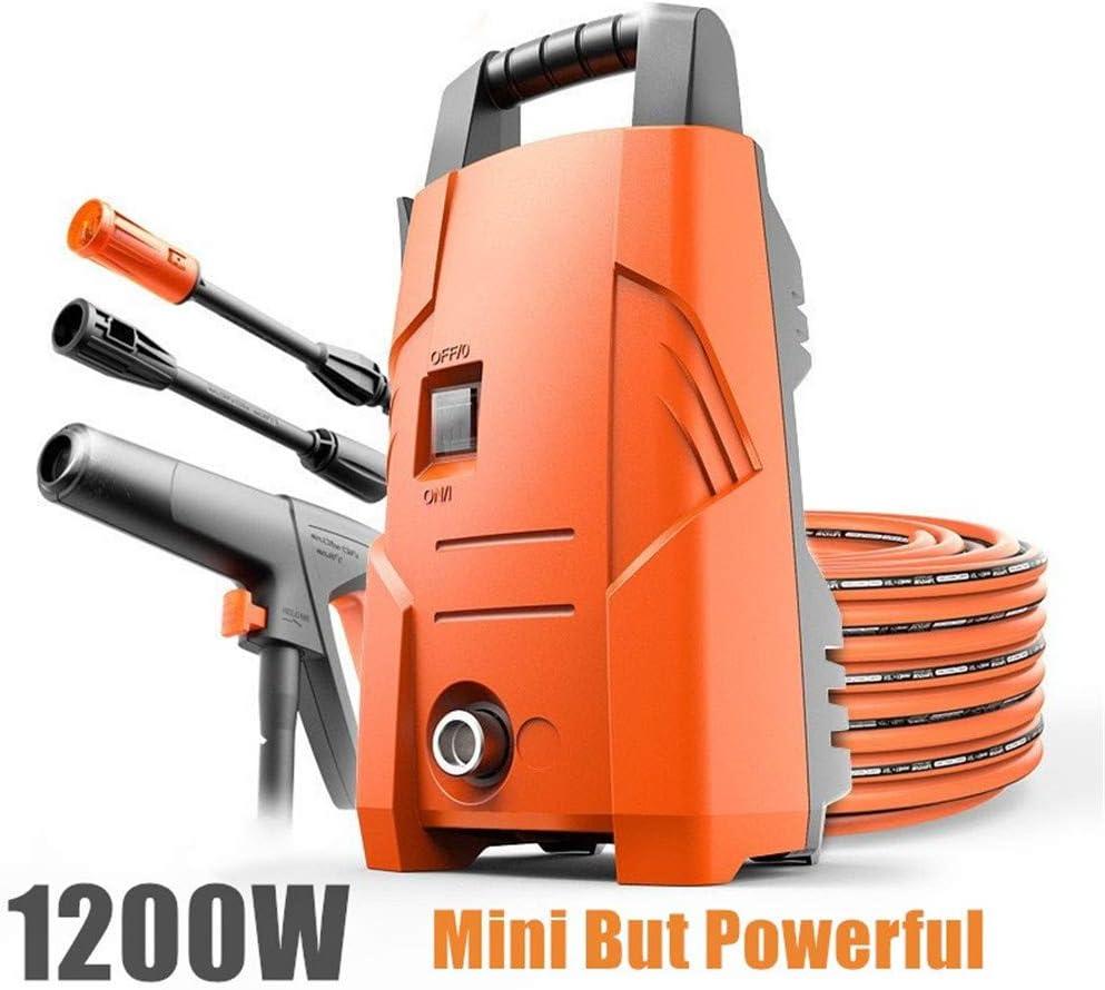 DBG Portátil 1200W 220V Coche Lavadora Agua Limpia Cebado/Conectar Agua del Grifo eléctrico de Limpieza de Alta presión Carden