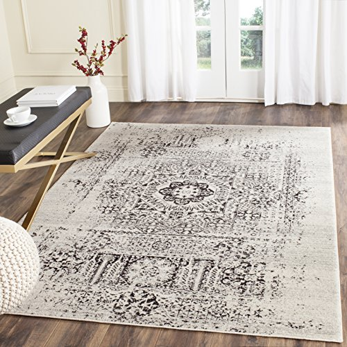 Safavieh Evoke Collection EVK260T Oriental Medallion Distressed Non-Shedding Stain Resistant Living Room Bedroom Area…