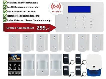 Alarma con radiofrecuencia 868 MHz y sensores HG082 Smart ...
