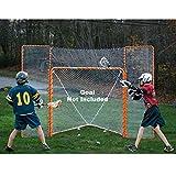 EZGoal Monster Lacrosse Backstop Rebounder, 11' x 8', Orange