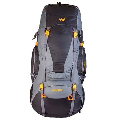 a69cc029fd Wildcraft Rucksack for Trekking Trailblazer 60 - Black  Amazon.in ...
