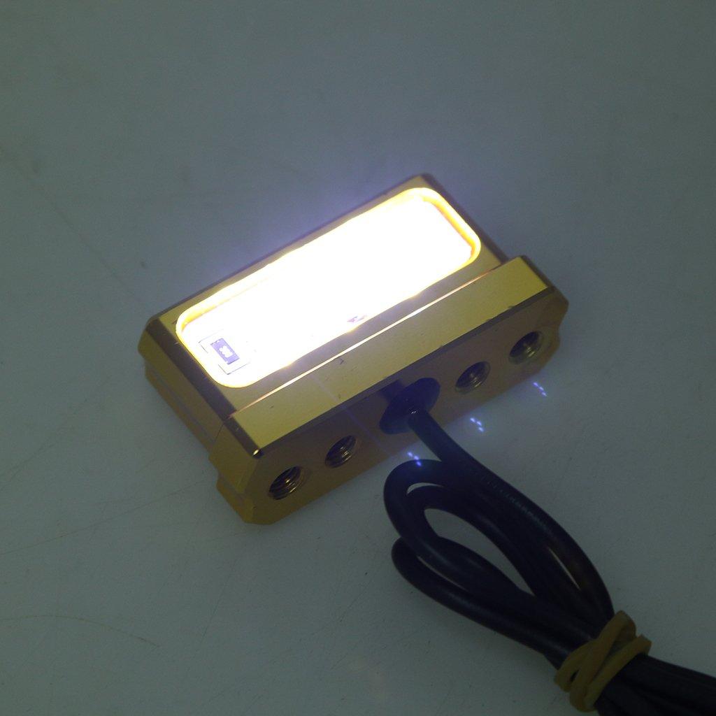 perfk Fender Eliminator Placa de Licencia Tidy Tail 3 LED ...