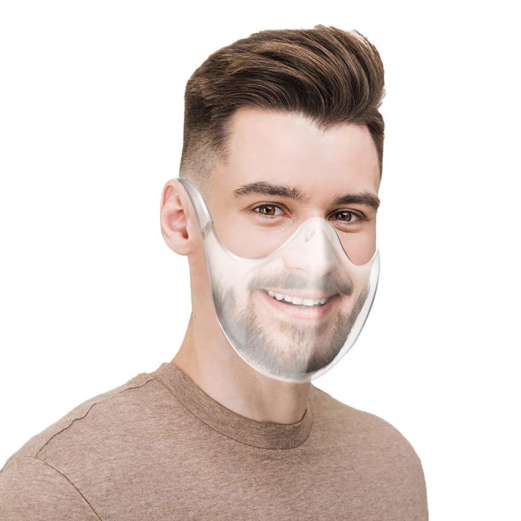 1pc Pantalla de Proteccion Facial, de Cara Completa de Plástico protector Reutilizable Gafas protectoras Visera de protección de seguridad Anti escupir para hombres y mujeres